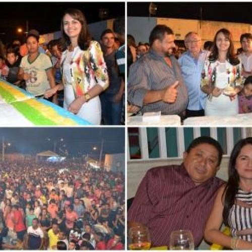 Jogos, bolo de 18 metros e shows comemoram o aniversário de Belém do Piauí; fotos