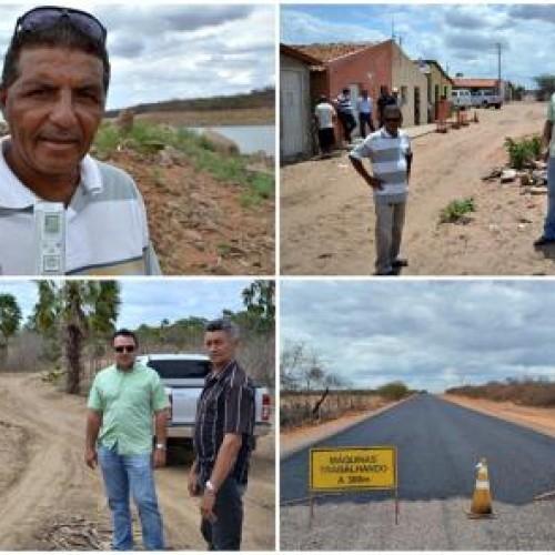 'O município de Patos vive um novo tempo', diz vereador ao visitar obras; fotos