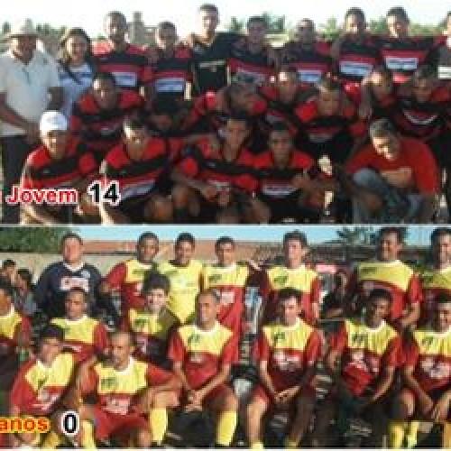 Goleada de 14 x 0 da Força Jovem sobre Veteranos foi o destaque da Copa Galo em Jaicós