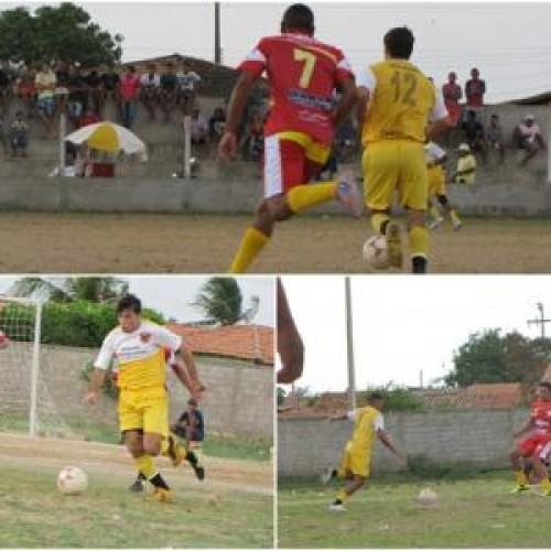 Em tarde chuvosa, União Cerâmica vence o time de Craíbas na Copa Galo