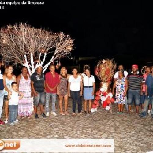 JAICÓS: Waldelina promove jantar de confraternização para equipe da limpeza pública