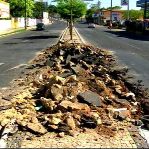 Obras na avenida São Raimundo serão concluídas em 10 dias