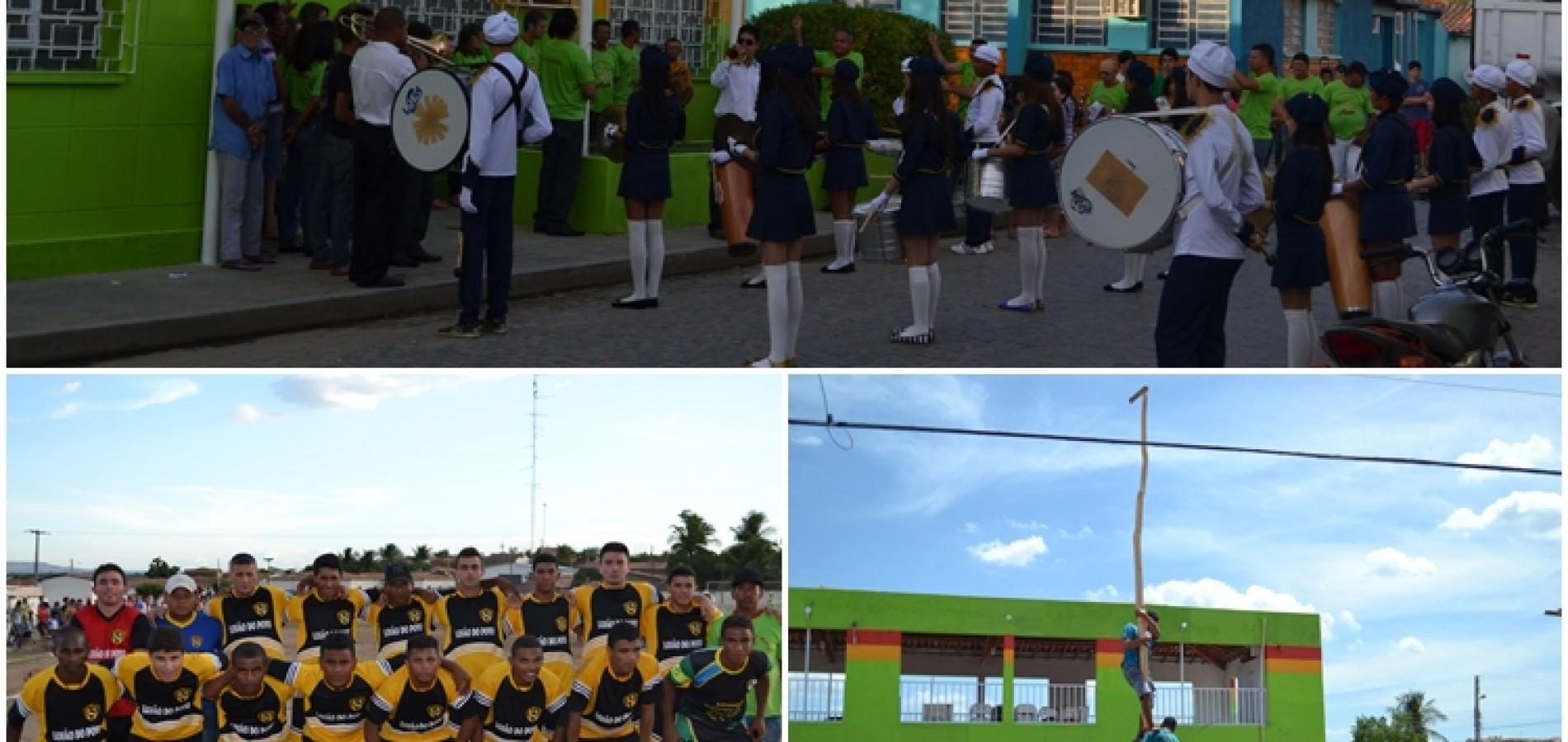 PADRE MARCOS 50 ANOS: Atividades cívicas e esportivas