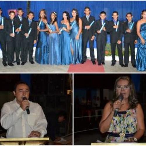 Prefeitura resgata tradição e promove Colação de Grau do ensino fundamental. Veja fotos!