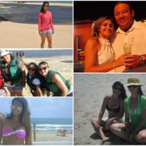 GENTE EM EVIDÊNCIA: Vips curtem final de ano e início de 2014 em festas, praia e sol