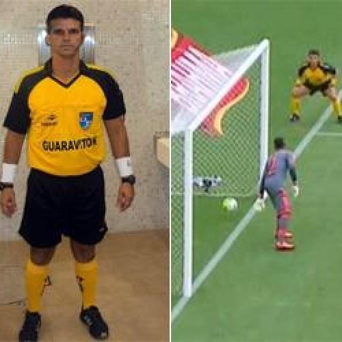 Auxiliar que não viu gol do Vasco cai no choro no Maracanã; Veja o lance!