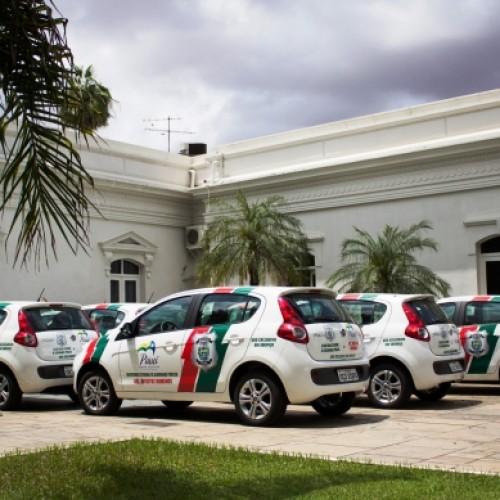 Secretaria de Segurança entrega viaturas e equipamentos
