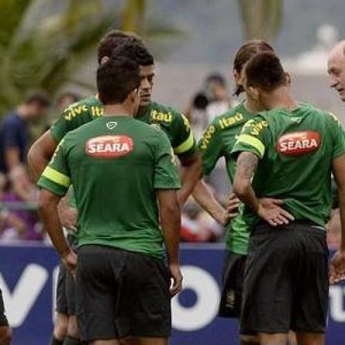 Treinos da Seleção Brasileira para a Copa serão fechados para torcidas