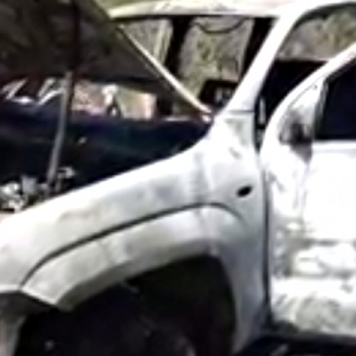Veículo usado no assalto ao BB de Simões foi encontrado incendiado. Veja!