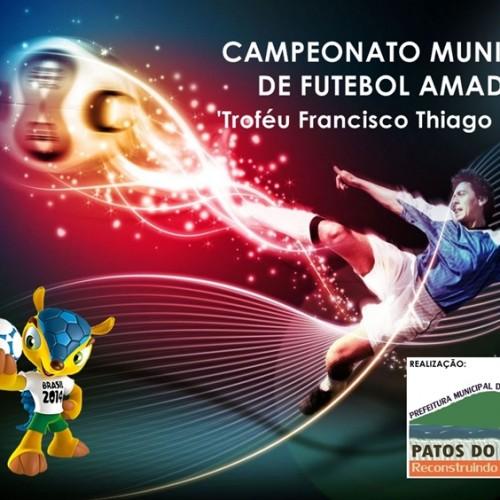 PATOS: Secretário anuncia início do Campeonato Municipal de Futebol Amador