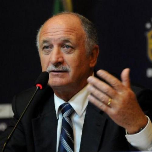 Felipão se diz feliz com o resultado do jogo contra México
