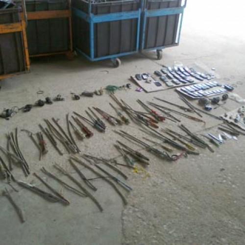Vistoria encontra 90 barras de ferro e 38 celulares em presídio no Piauí