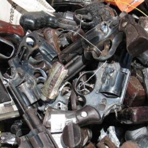 Campanha do Desarmamento recolheu quase 650 mil armas em dez anos