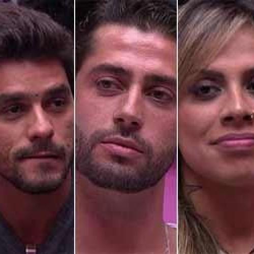 Paredão triplo Cássio indica Marcelo e Vanessa para 13º paredão