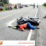 JAICÓS: Um morre e três ficam feridos em acidente na BR 407; veja fotos exclusivas