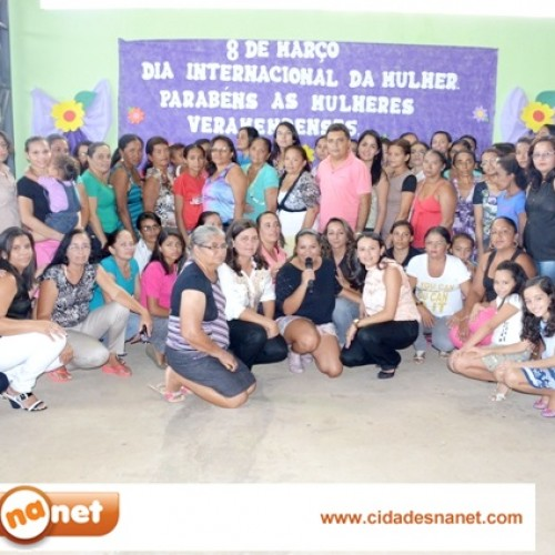 VERA MENDES: Fotos das comemorações ao Dia Internacional da Mulher