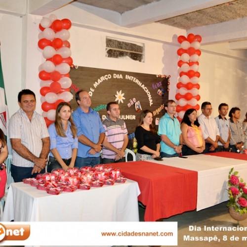 Dia Internacional da Mulher é comemorado em Massapê do Piauí. Veja fotos!