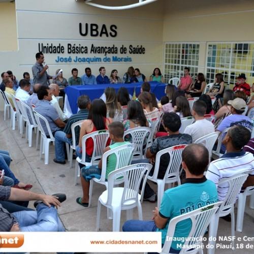 MASSAPÊ: Fotos da solenidade de implantação do NASF e inauguração do Centro de Fisioterapia