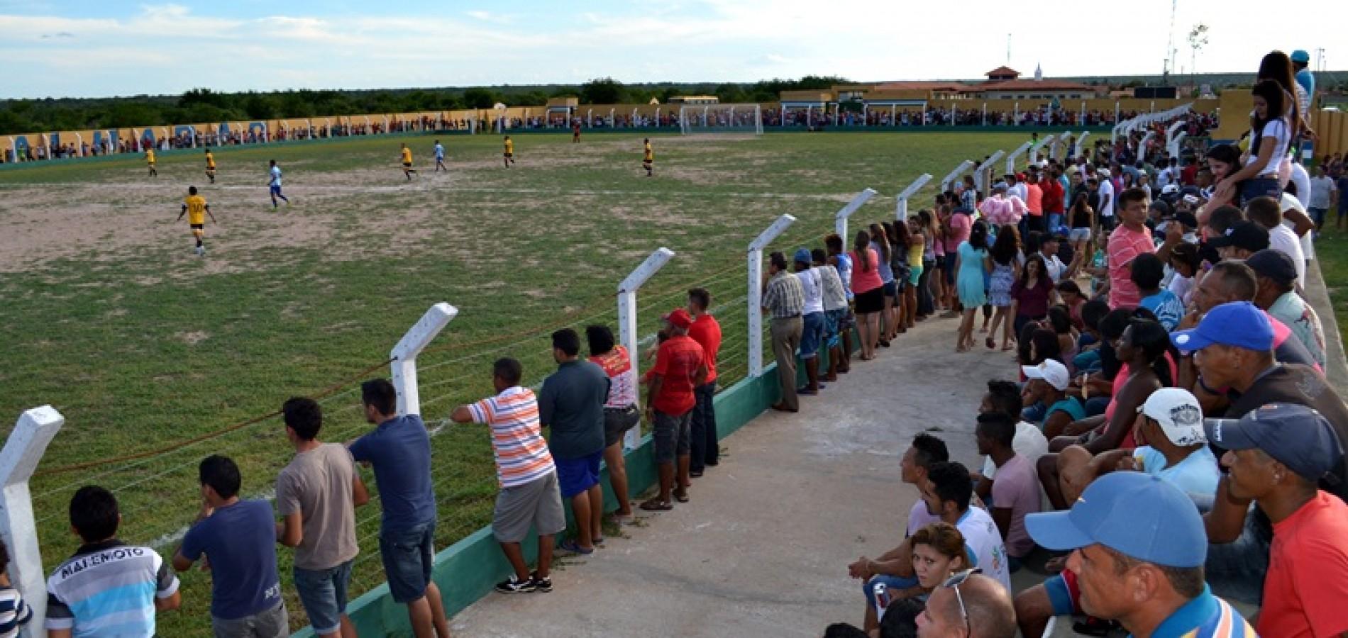 Veja fotos da final do Campeonato Regional de Belém do Piauí