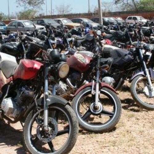 Detran-PI leiloa 218 motocicletas neste sábado (24)