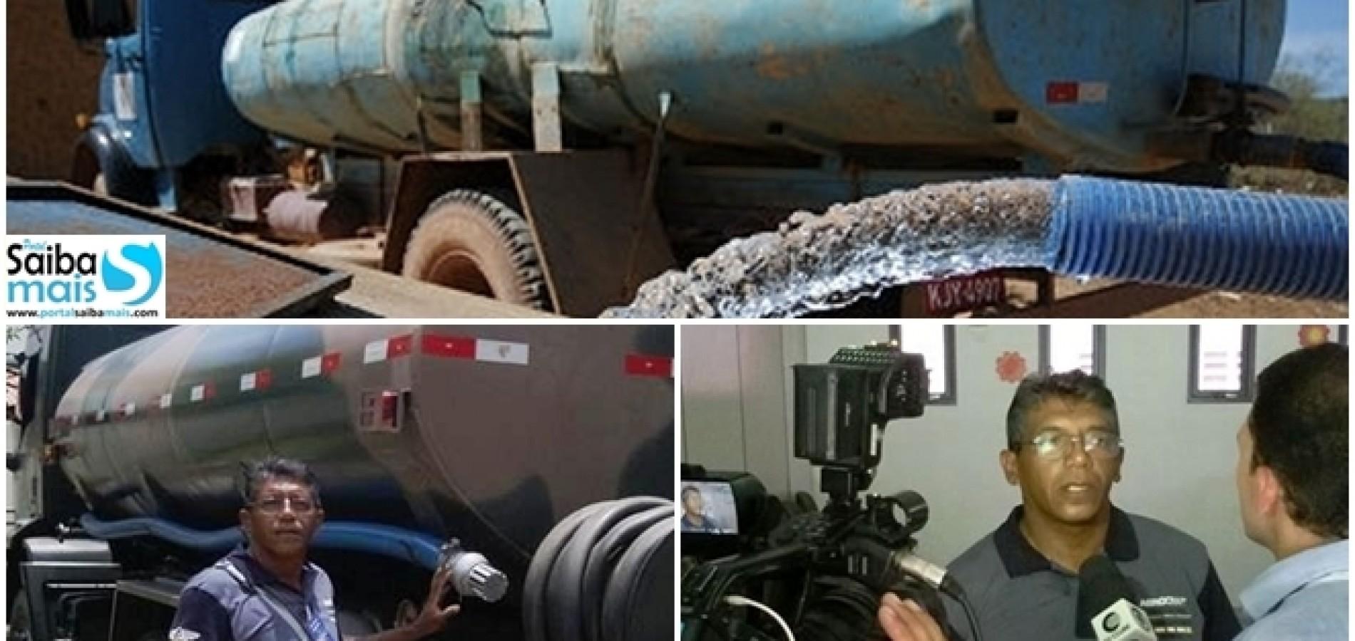 Prefeitura de Jaicós envia técnico a Teresina para treinamento sobre qualidade da água dos carros-pipa