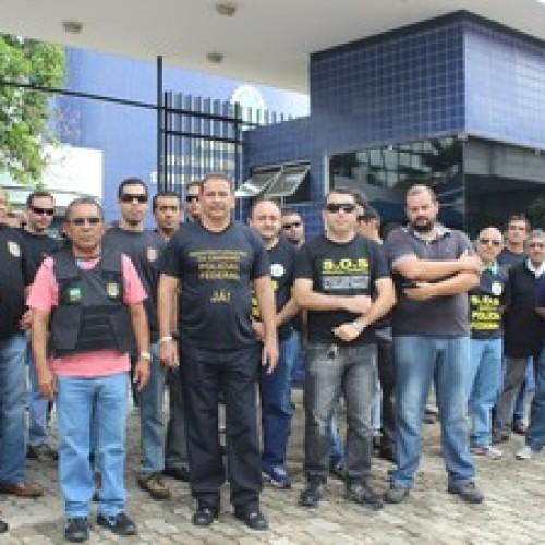 No Piauí, policiais federais aderem à paralisação nacional de 72 horas