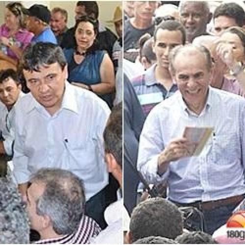 W. Dias e Marcelo Castro usam do mesmo discurso em viagens no PI