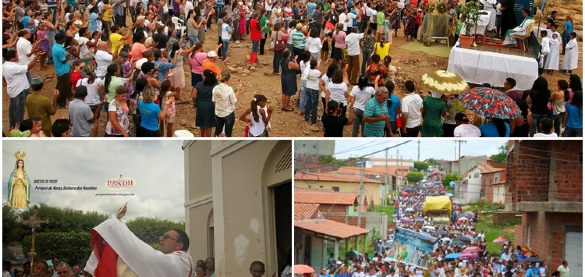 PAULISTANA: Multidão participa de missa e caminhada em agradecimento pelas chuvas. Fotos!