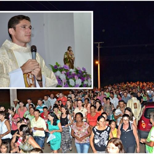Missa e procissão encerram os festejos de São José, padroeiro de Belém do Piauí; veja fotos