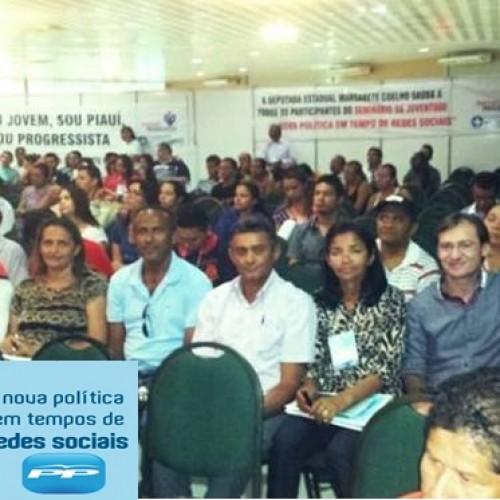 Prefeito Chico Carvalho e comitiva participam de Seminário do PP em Teresina