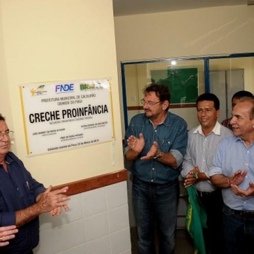 Wilson e Vianney inauguram seis barragens e entregam outros benefícios para Caldeirão Grande