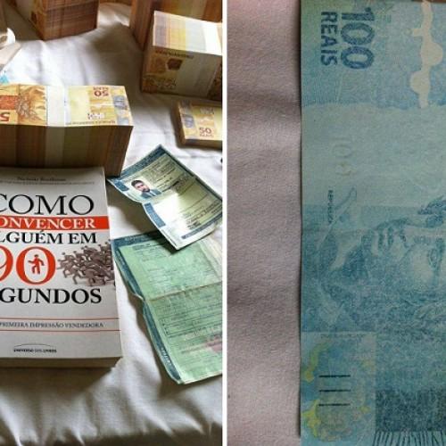 Polícia Civil prende dois homens com R$ 600 mil em notas falsas no Piauí