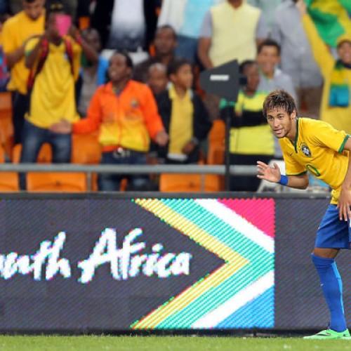 Brasil goleia a África do Sul por 5 a 0