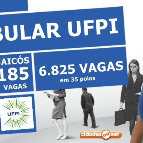 Vestibular da UFPI abre 185 vagas para o polo de Jaicós; veja os cursos
