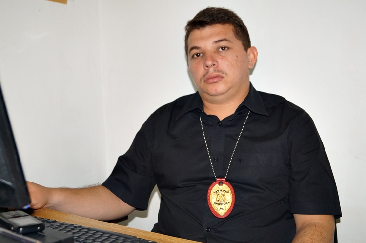 Dr. Antônio Nilton, delegado de Polícia Civil