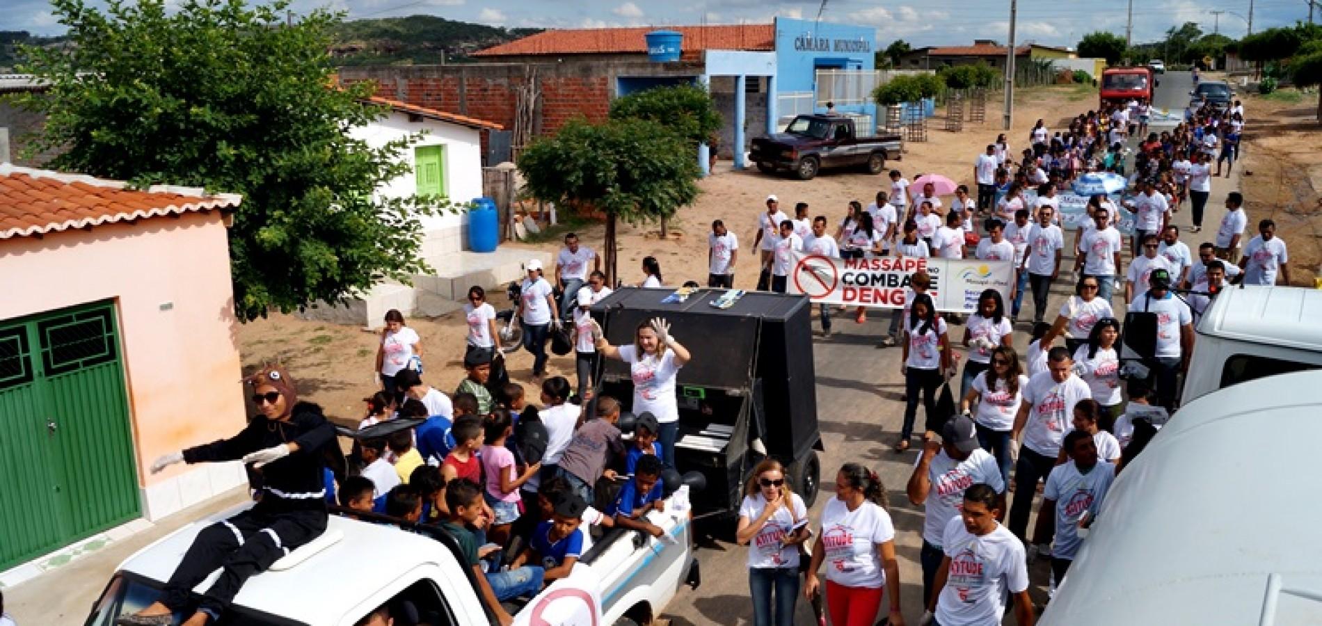 FOTOS: Prefeitura de Massapê do Piauí promove atitude contra a dengue