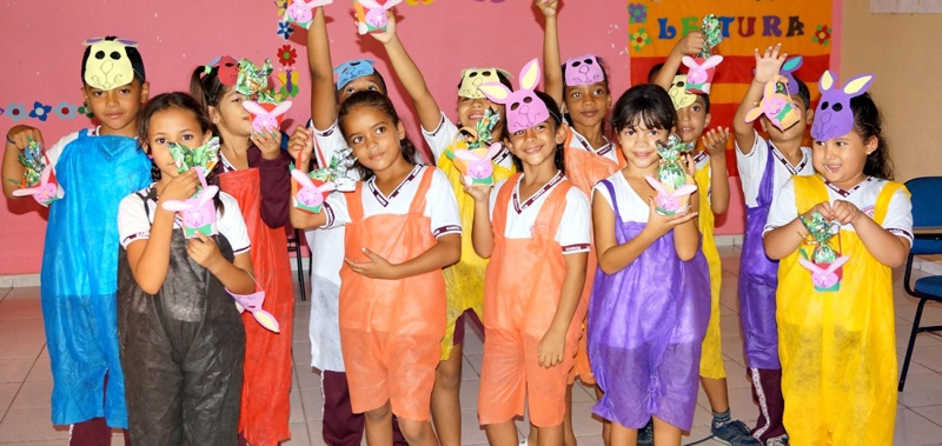JAICÓS: Instituto Kairós celebra a páscoa com alunos em dia especial; veja fotos