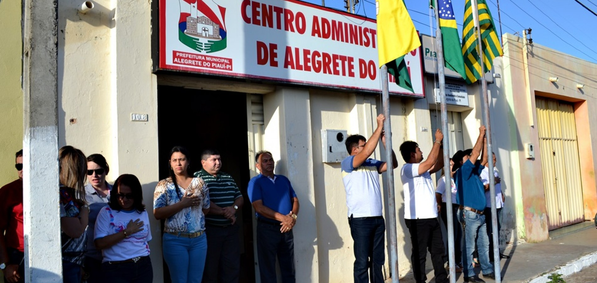 Alegrete do Piauí 22 anos: Alvorada festiva