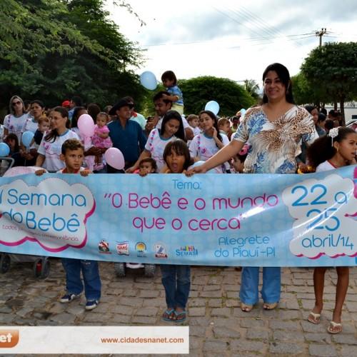 Alegrete do Piauí 22 anos: Caminhada do bebê