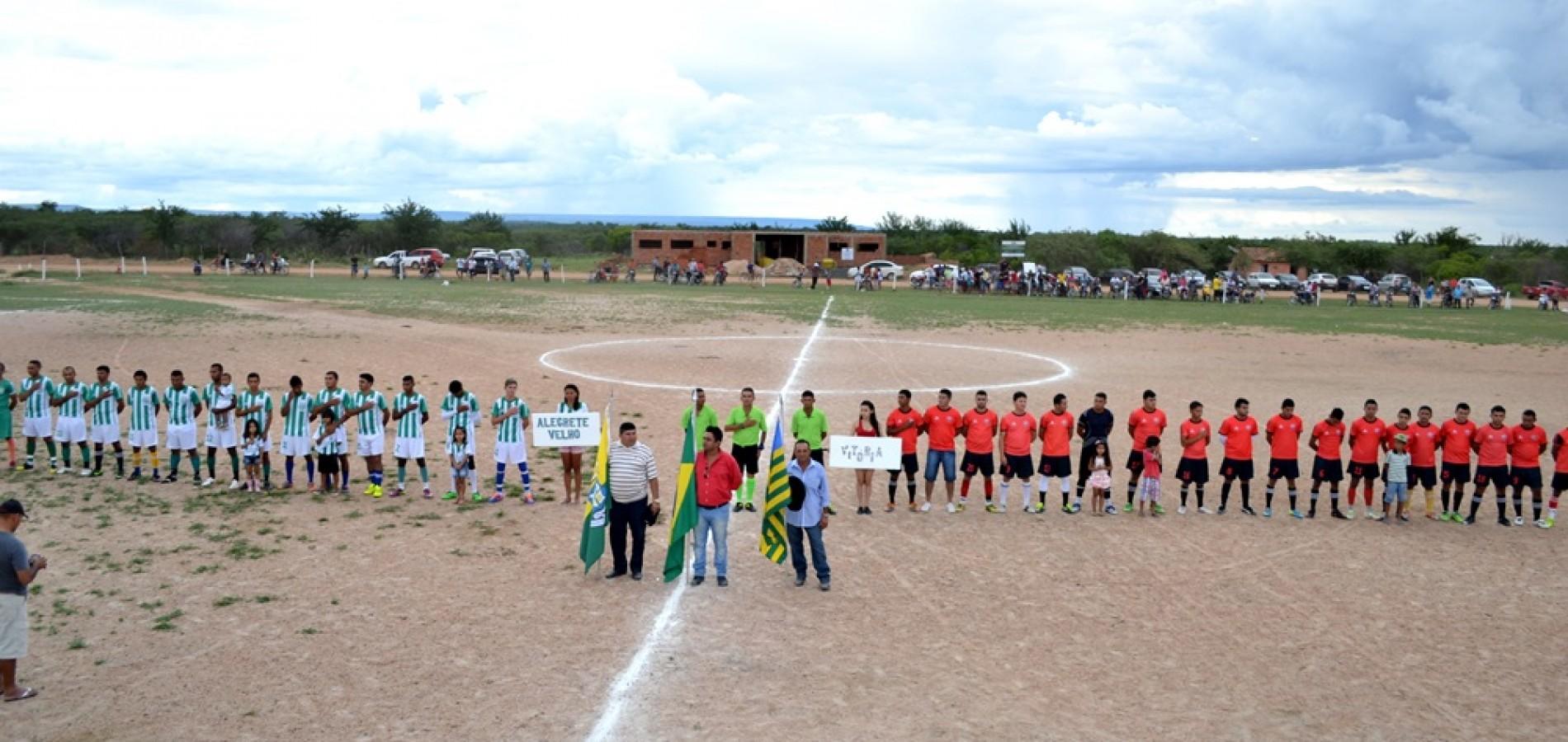 Alegrete do Piauí 22 anos: Final do torneio municipal de futebol