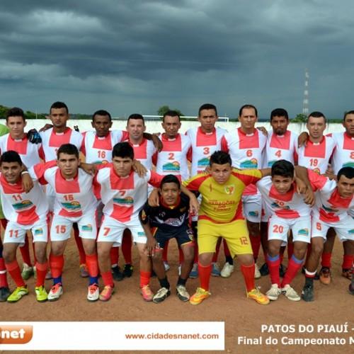 PATOS 22 ANOS: Cajueiro vence e é o grande campeão do Campeonato Municipal 2014