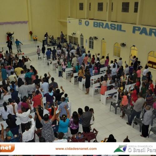 Fotos: Aniversário de 38 anos da Igreja O Brasil para Cristo em Jaicós