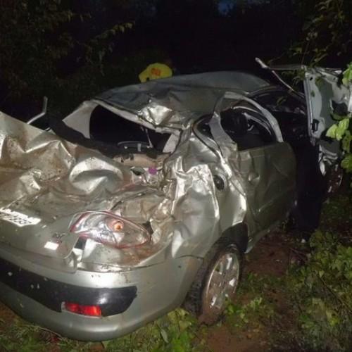 Bebê de nove meses morre e pais ficam feridos em acidente no Piauí
