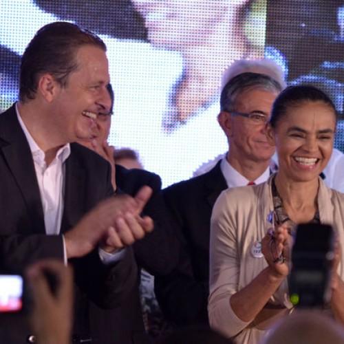 PSB anuncia chapa com Campos para presidente e Marina como vice