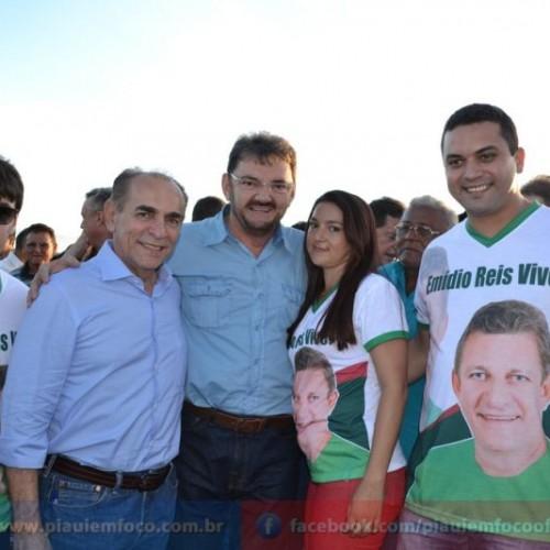 Wilson Martins e Marcelo Castro prestigiam o torneio de Cansanção, em São Julião