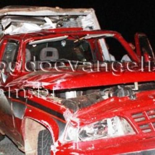 Camelô se envolve em acidente na BR-407