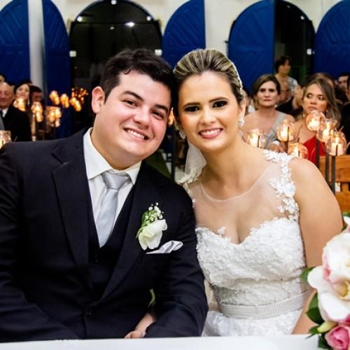 GENTE EM EVIDÊNCIA: Enlace matrimonial de Janice e Flávio