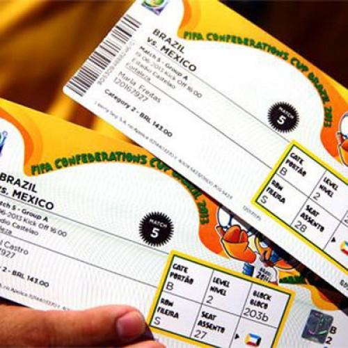 Fifa vende em quatro horas 126 mil ingressos para a Copa do Mundo