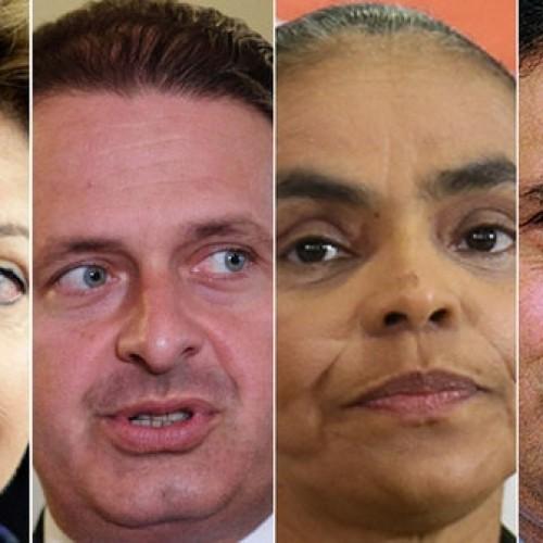 Dilma tem 38%, Aécio,16% e Campos, 10%, diz pesquisa Datafolha