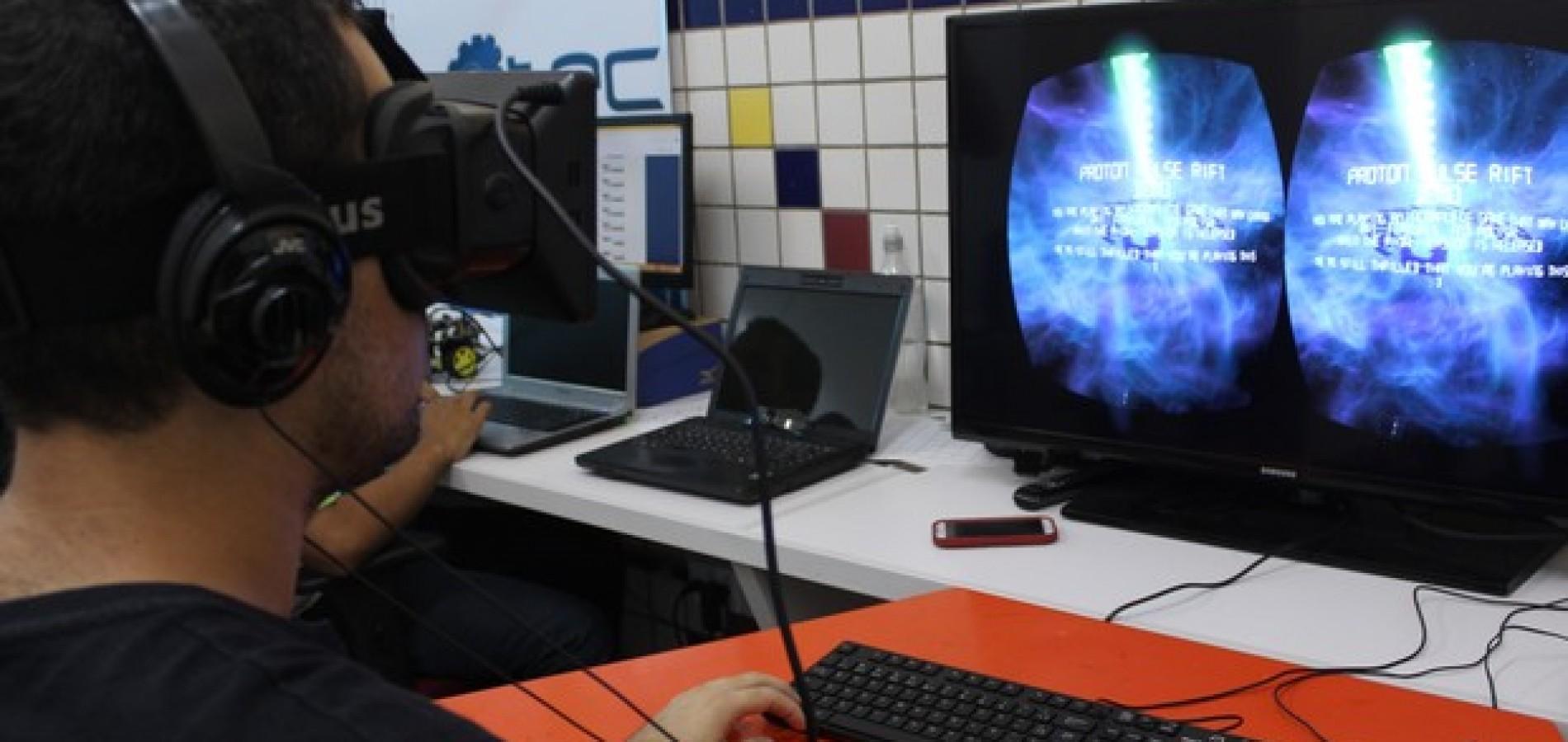 Projeto do PI usa óculos de realidade virtual para tratamento de fobias